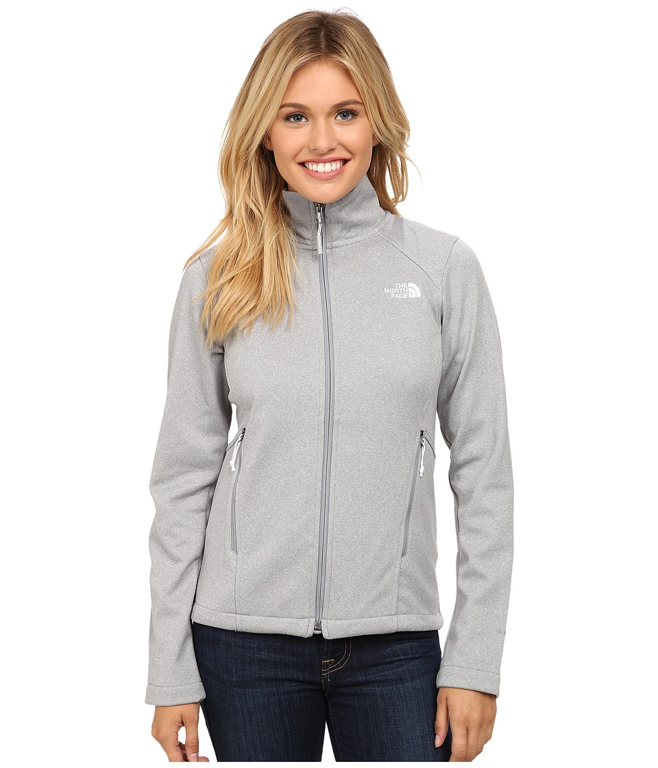 The North Face - Canyonwall Jacket (Mid Grey Heather/Mid Grey Heather) Women's Sweatshirt