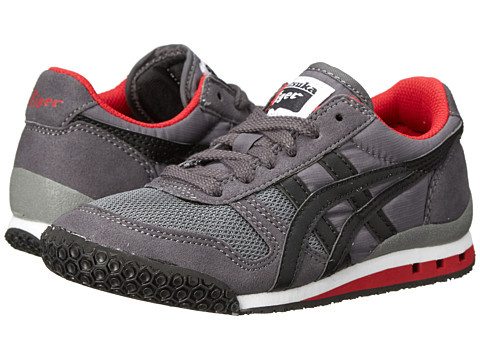 Onitsuka Tiger Kids by Asics - Ultimate 81 (Toddler/Little Kid) (Grey/Black) Boys Shoes