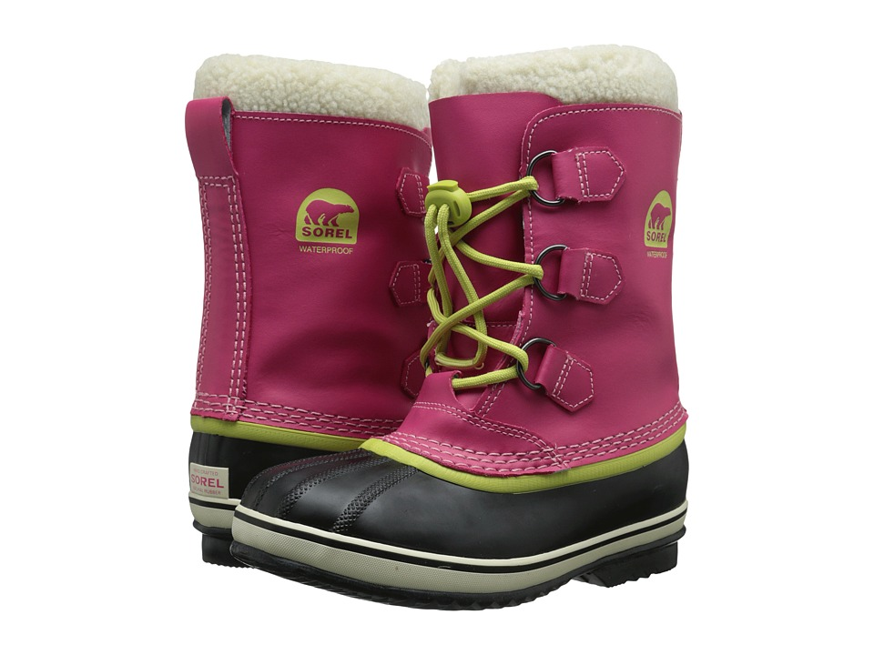 SOREL Kids - Yoot Pactm TP (Little Kid/Big Kid) (Bright Rose) Girls Shoes