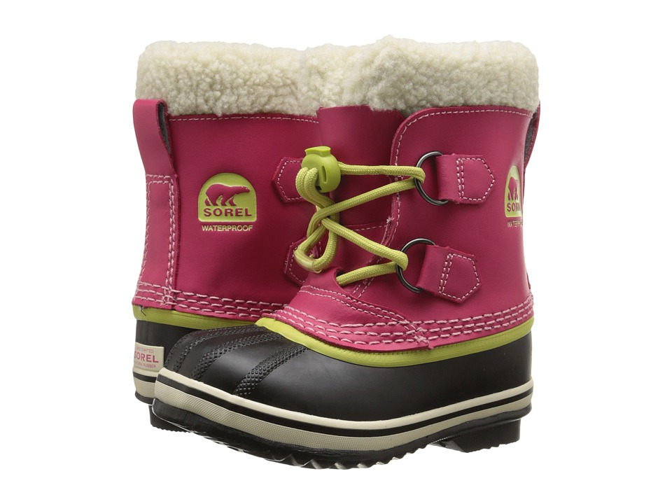 SOREL Kids - Yoot Pac TP (Toddler/Little Kid) (Bright Rose) Girls Shoes