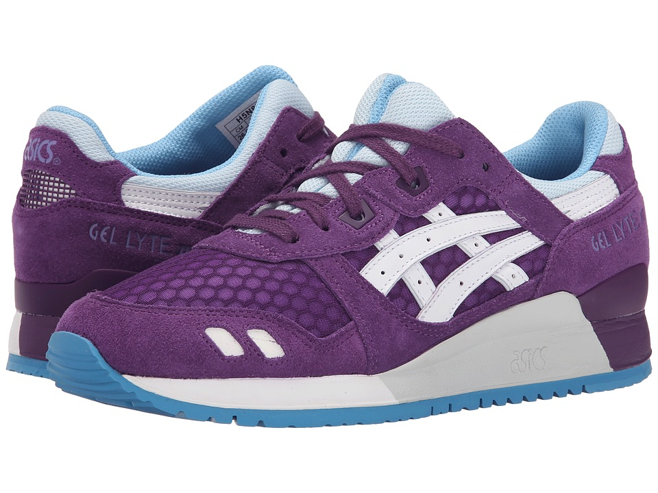 ASICS Tiger - Gel-Lyte III (Purple/White) Women's Shoes