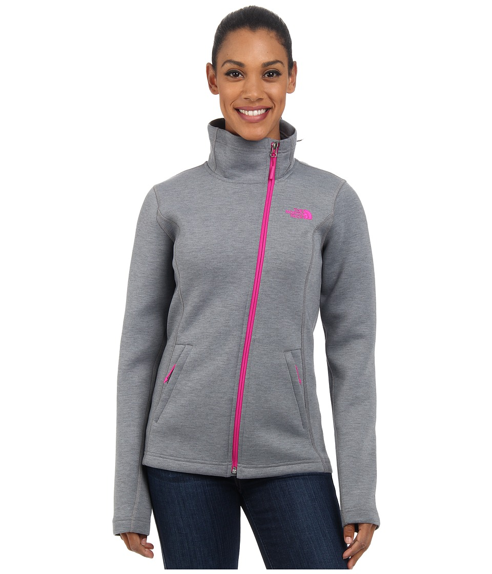 The North Face - Haldee Jacket (Mid Grey Heather) Women's Coat