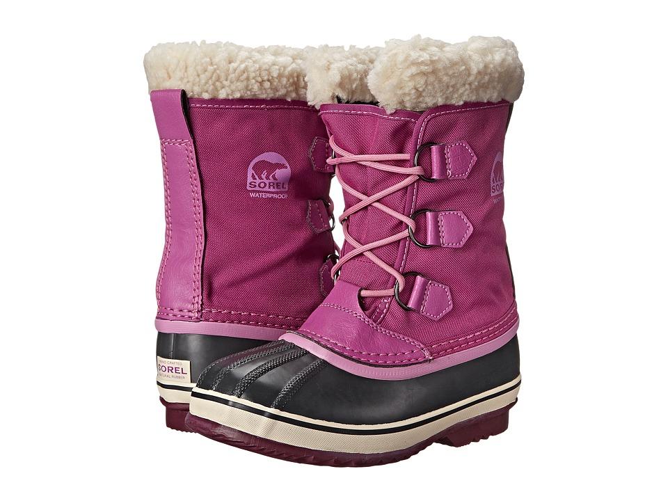 SOREL Kids - Yoot Pac Nylon (Little Kid/Big Kid) (Very Berry) Girls Shoes