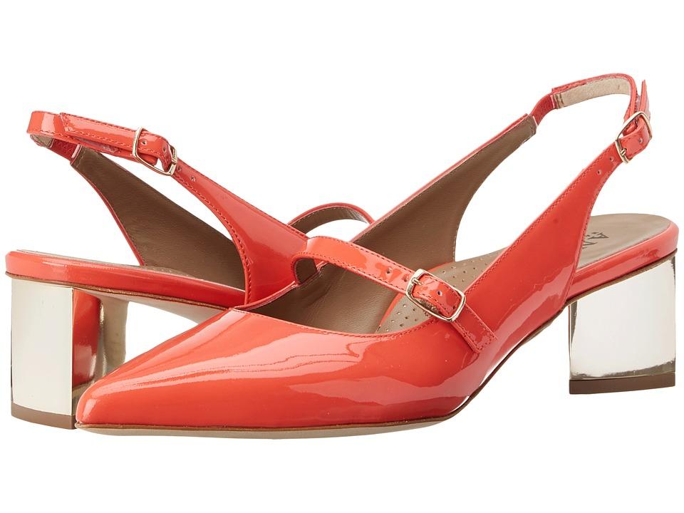 Anyi Lu - Gigi (Coral Patent) Women's 1-2 inch heel Shoes