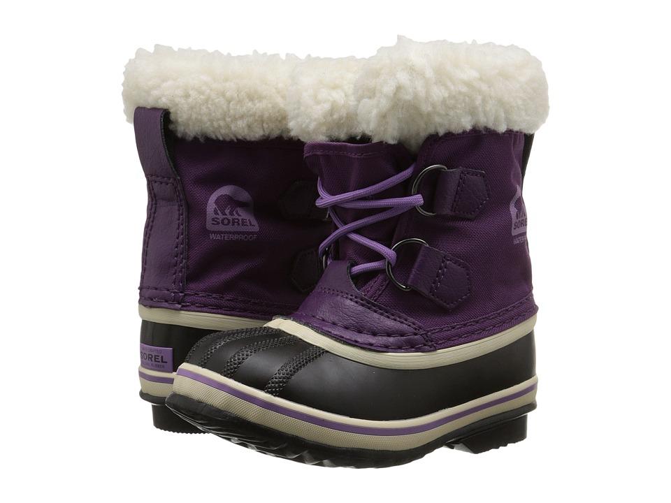 SOREL Kids - Yoot Pac Nylon (Toddler/Little Kid) (Bramble/Black) Girls Shoes