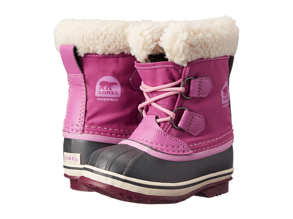 SOREL Kids - Yoot Pac Nylon (Toddler/Little Kid) (Very Berry) Girls Shoes