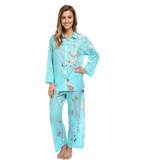 Natori - Sakura PJ (Light Blue) Women