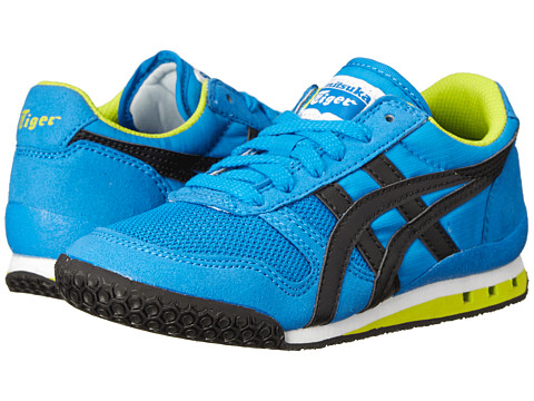 Onitsuka Tiger Kids by Asics - Ultimate 81 (Toddler/Little Kid) (Blue/Black) Boys Shoes