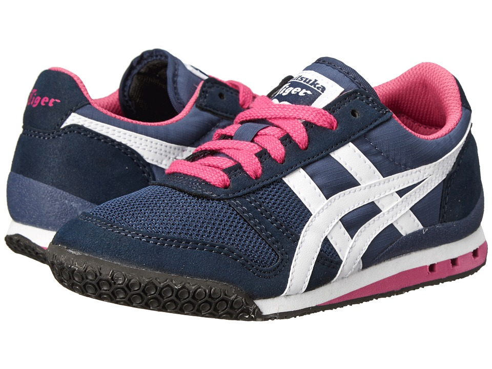 Onitsuka Tiger Kids by Asics - Ultimate 81 (Toddler/Little Kid) (Navy/White) Girls Shoes