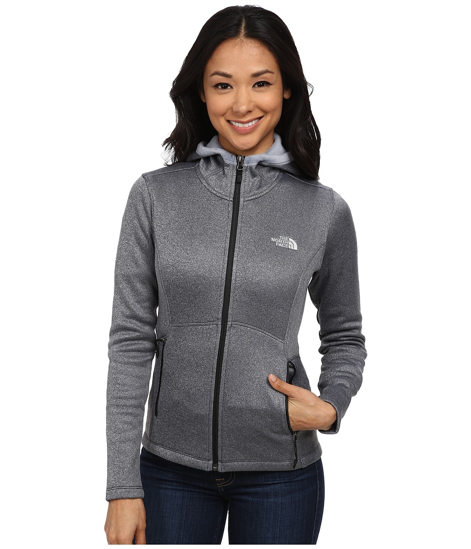 The North Face - Agave Hoodie (TNF Black Heather) Women's Coat