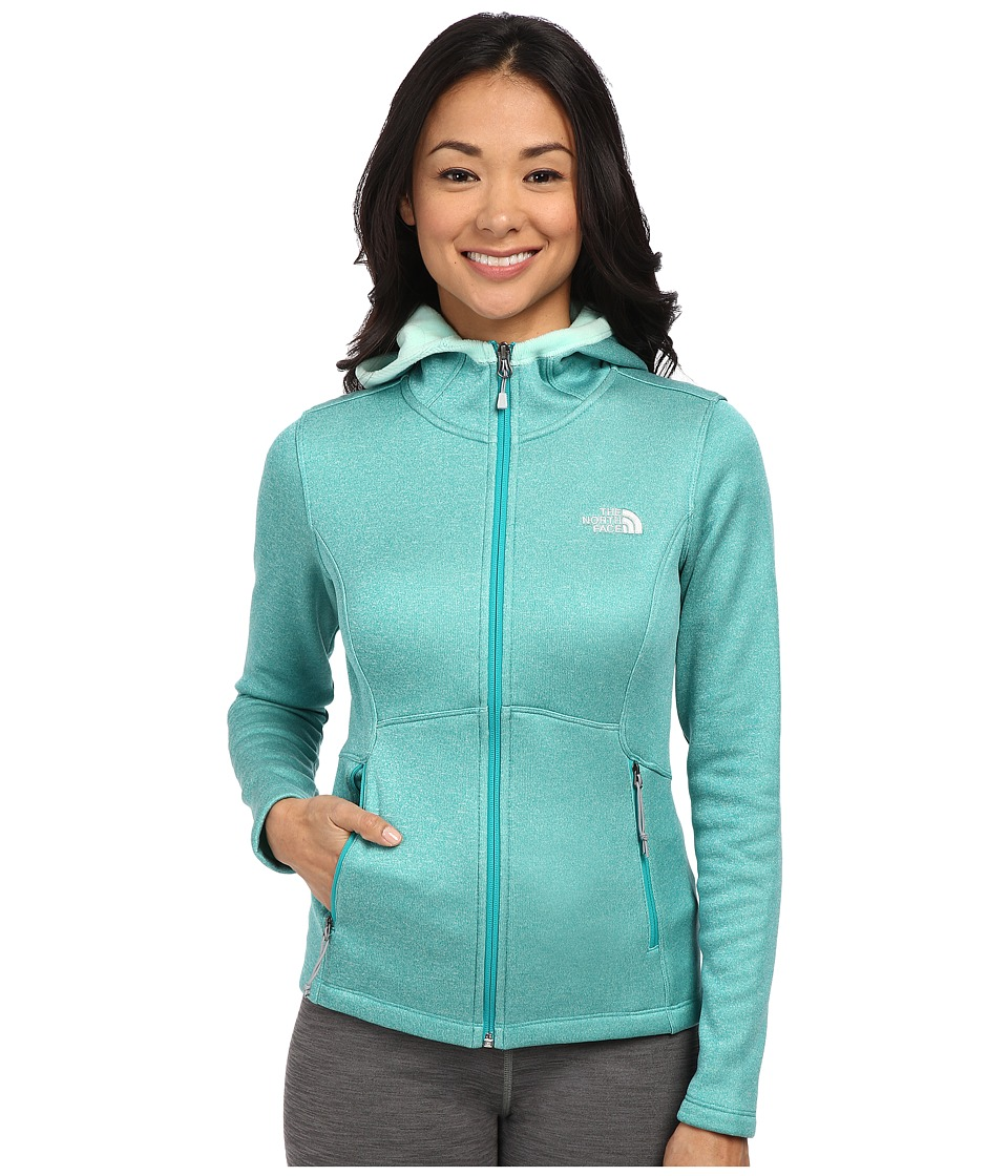 The North Face Agave Hoodie (Kokomo Green Heather) Women