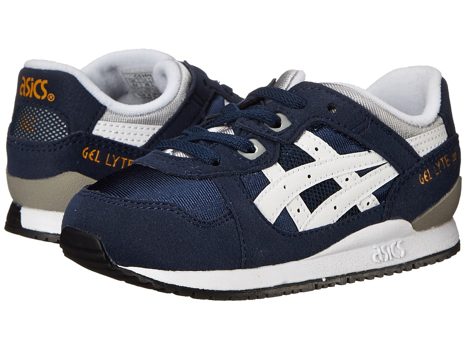 Onitsuka Tiger Kids by Asics - Gel-Lytetm III (Toddler) (Navy/White) Boys Shoes