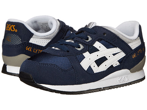 Onitsuka Tiger Kids by Asics - Gel-Lyte III (Toddler) (Navy/White) Boys Shoes