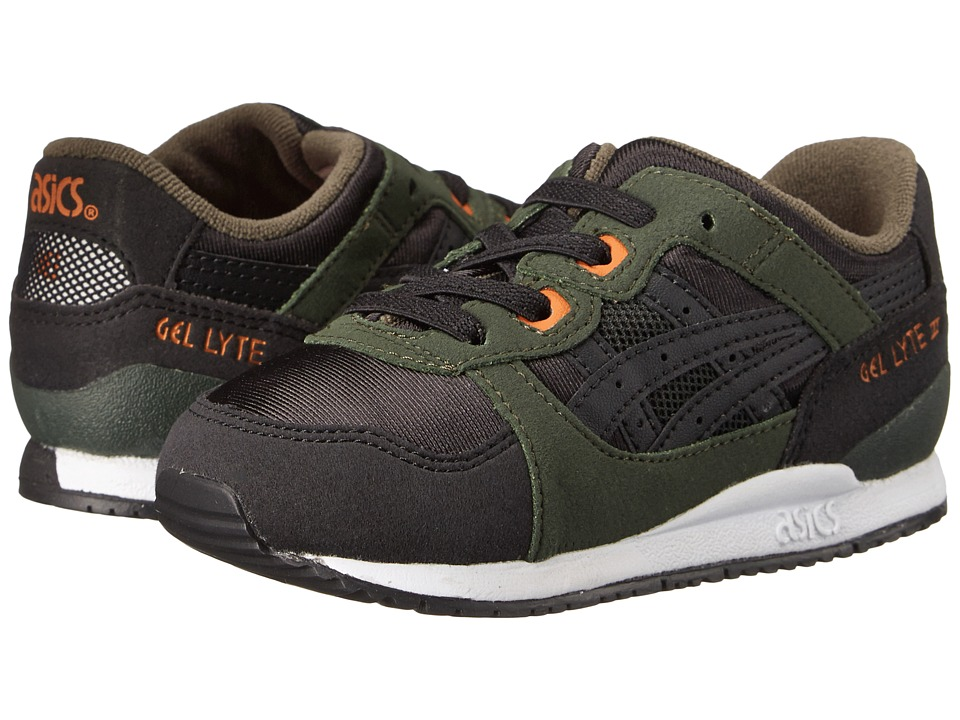 ASICS Kids - Gel-Lyte III (Toddler) (Duffel Bag/Black) Boys Shoes
