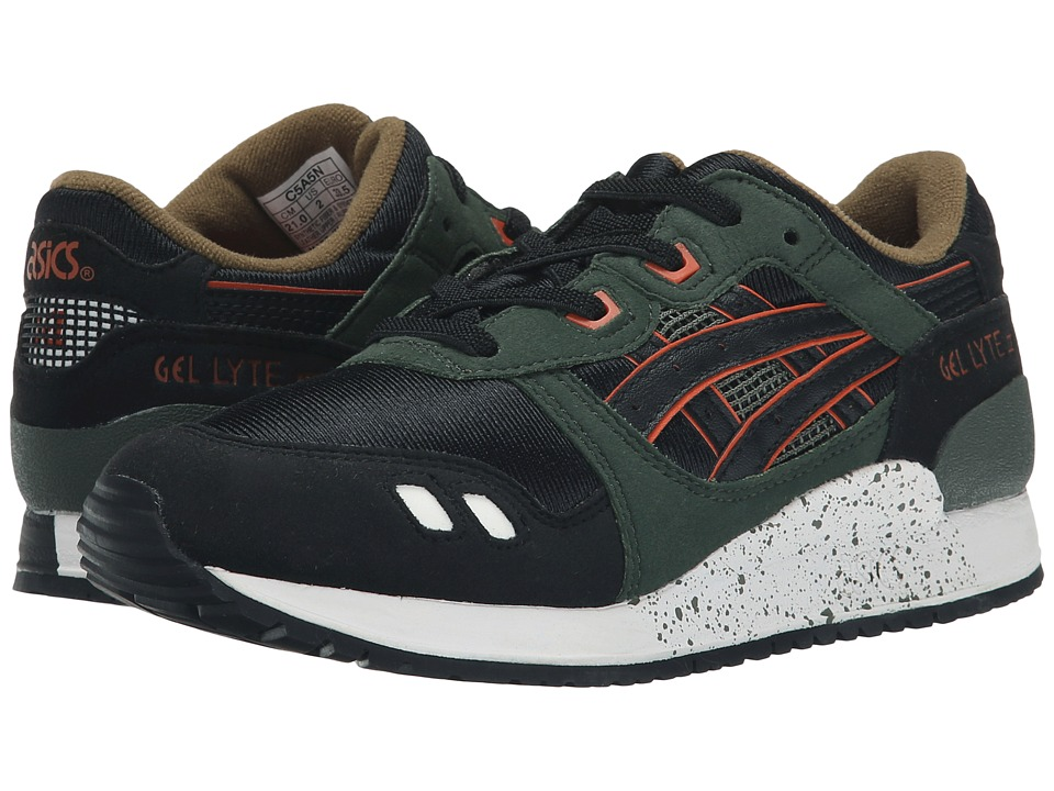 Onitsuka Tiger Kids by Asics - Gel-Lyte III (Toddler/Little Kid) (Duffel Bag/Black) Boys Shoes
