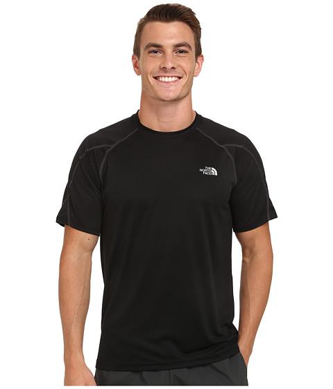 The North Face - Voltage Short Sleeve Crew Shirt (TNF Black/Asphalt Grey) Men