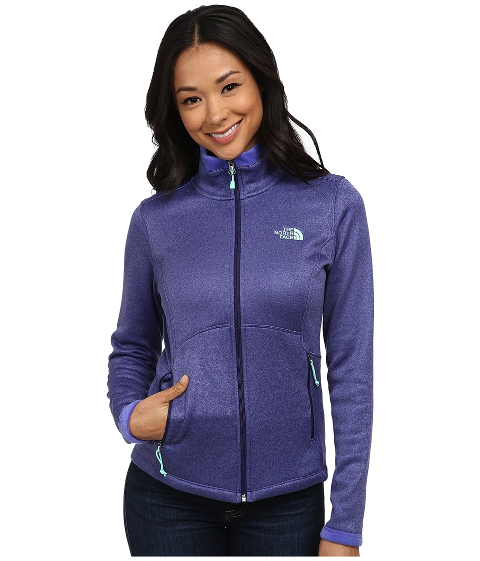 The North Face - Agave Jacket (Garnet Purple Heather) Women's Coat