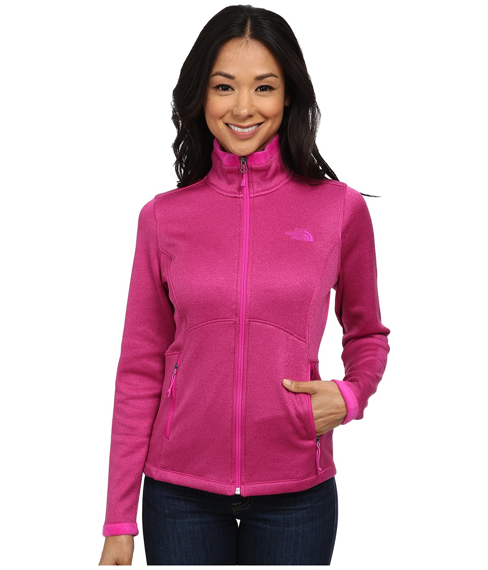 The North Face - Agave Jacket (Dramatic Plum Heather) Women's Coat