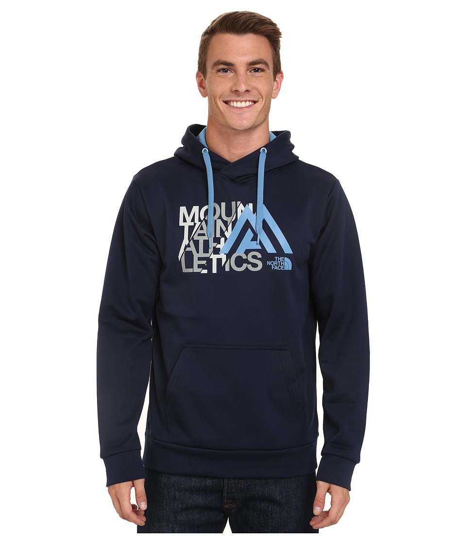 The North Face - Mountain Athletics Graphic Surgent Hoodie (Cosmic Blue) Men