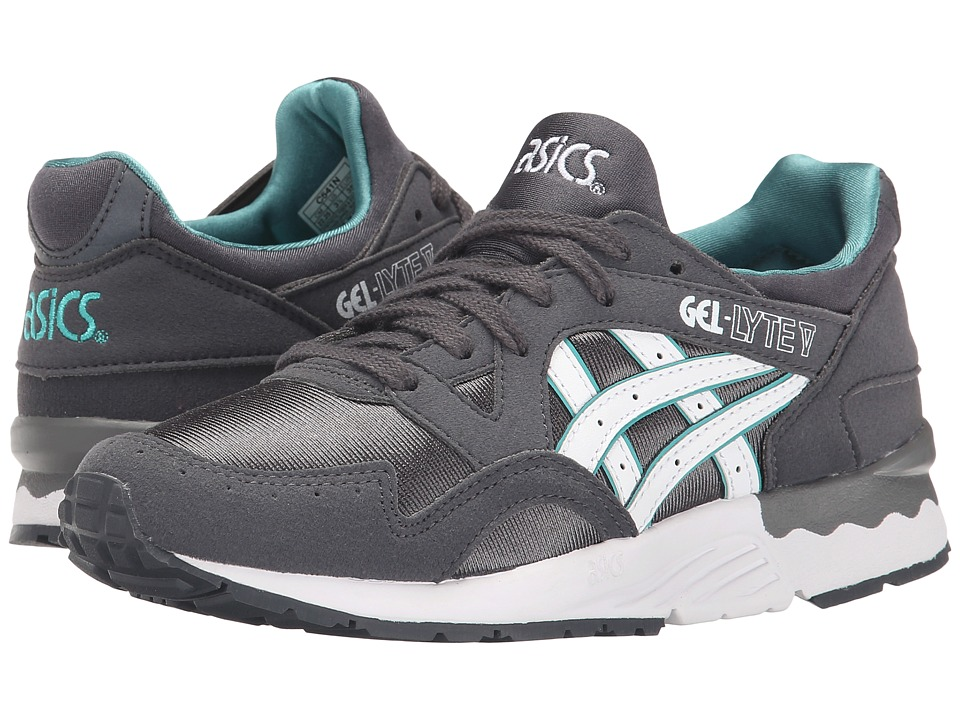 ASICS Kids Gel-Lyte V (Big/Kid) (Dark Grey/White) Boys Shoes