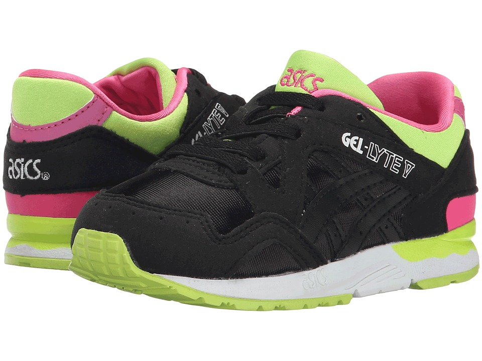 ASICS Kids - Gel-Lyte V (Toddler) (Black/Black) Girls Shoes