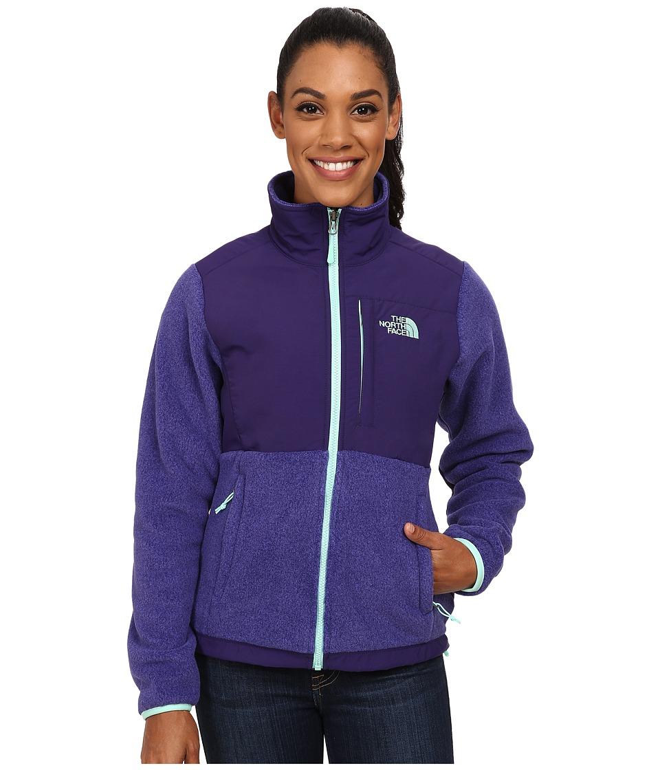 The North Face - Denali Jacket (Recycled Garnet Purple Heather/Garnet Purple) Women