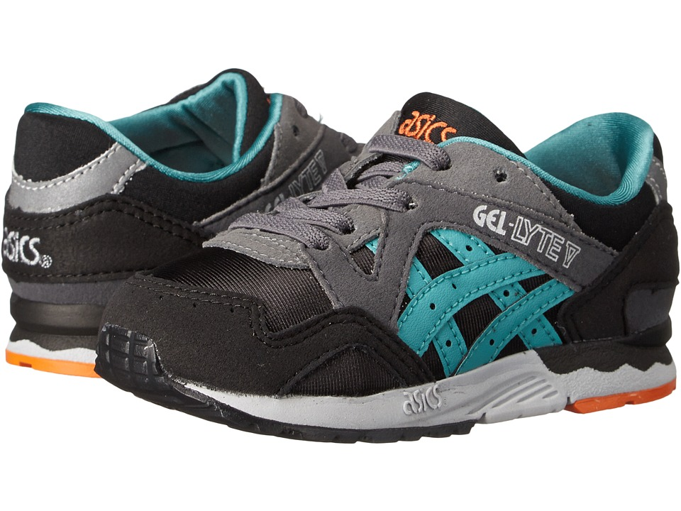 ASICS Kids Gel-Lyte V (Toddler) (Black/Latigo Bay) Boys Shoes