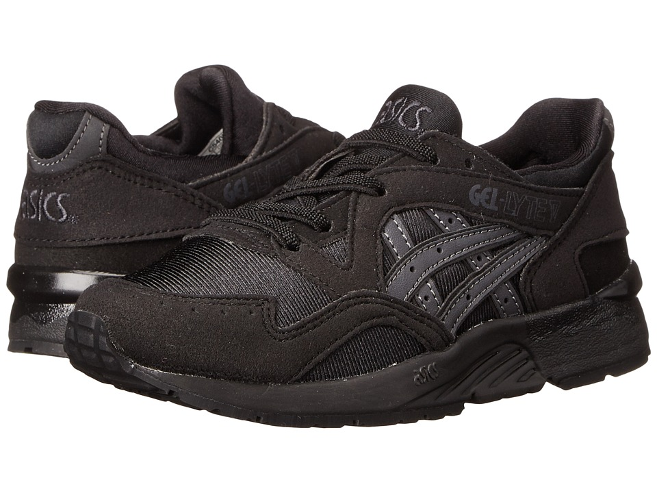 ASICS Kids Gel-Lyte V (Toddler/Little Kid) (Black/Dark Grey) Boys Shoes