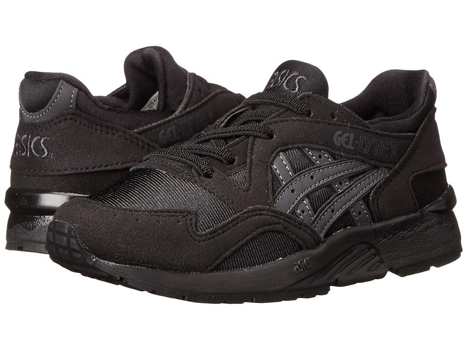 ASICS Kids - Gel-Lyte V (Toddler/Little Kid) (Black/Dark Grey) Boys Shoes