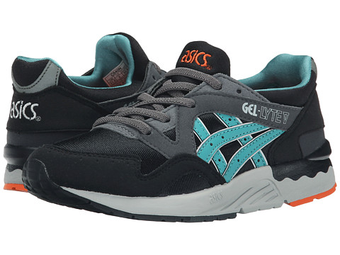 Onitsuka Tiger Kids by Asics - Gel-Lyte V (Toddler/Little Kid) (Black/Latigo Bay) Boys Shoes