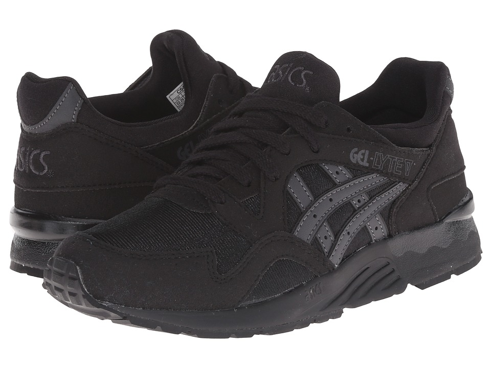 ASICS Kids Gel-Lyte V (Big/Kid) (Black/Dark Grey) Boys Shoes