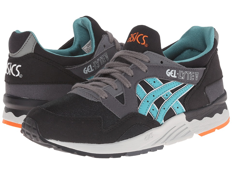 Onitsuka Tiger Kids by Asics - Gel-Lyte V (Big/Kid) (Black/Latigo Bay) Boys Shoes