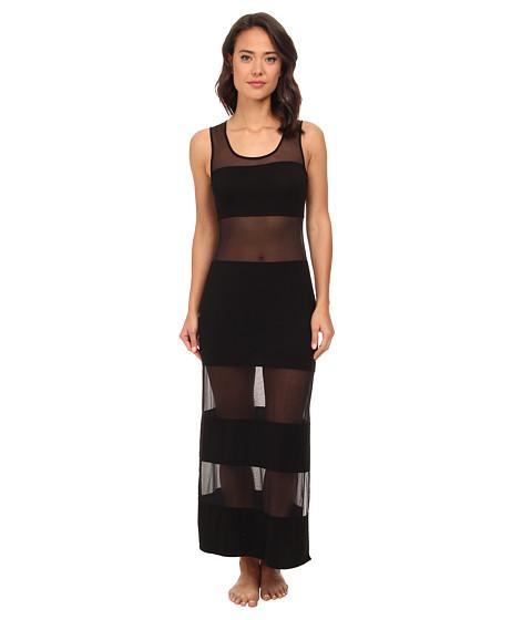 Natori - Boudoir Tank Gown (Black) Women
