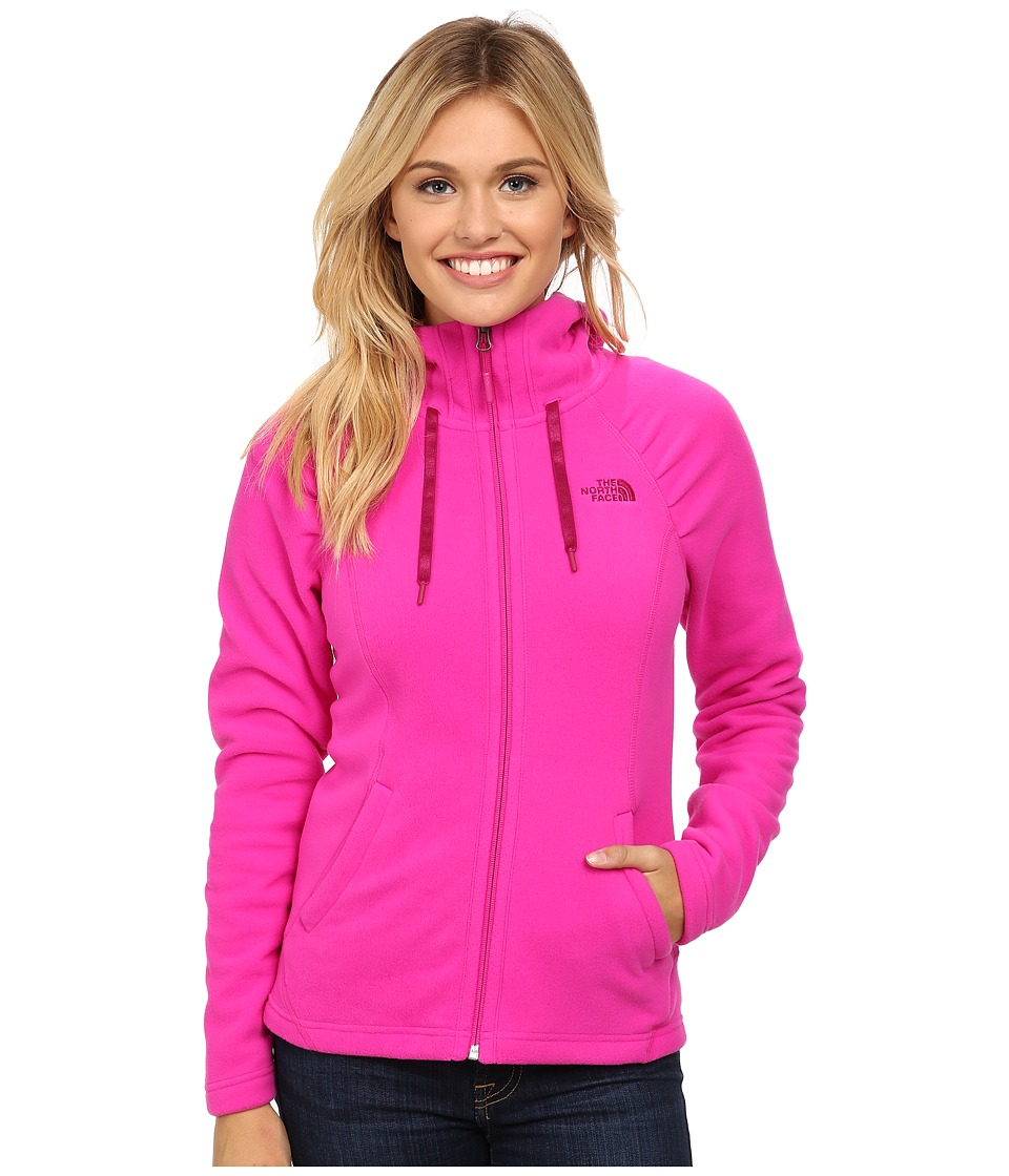The North Face - Mezzaluna Hoodie (Luminous Pink) Women