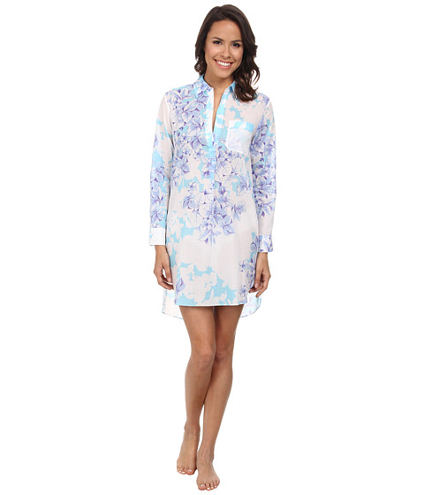 Natori - Kona Sleepshirt (Surf Blue) Women