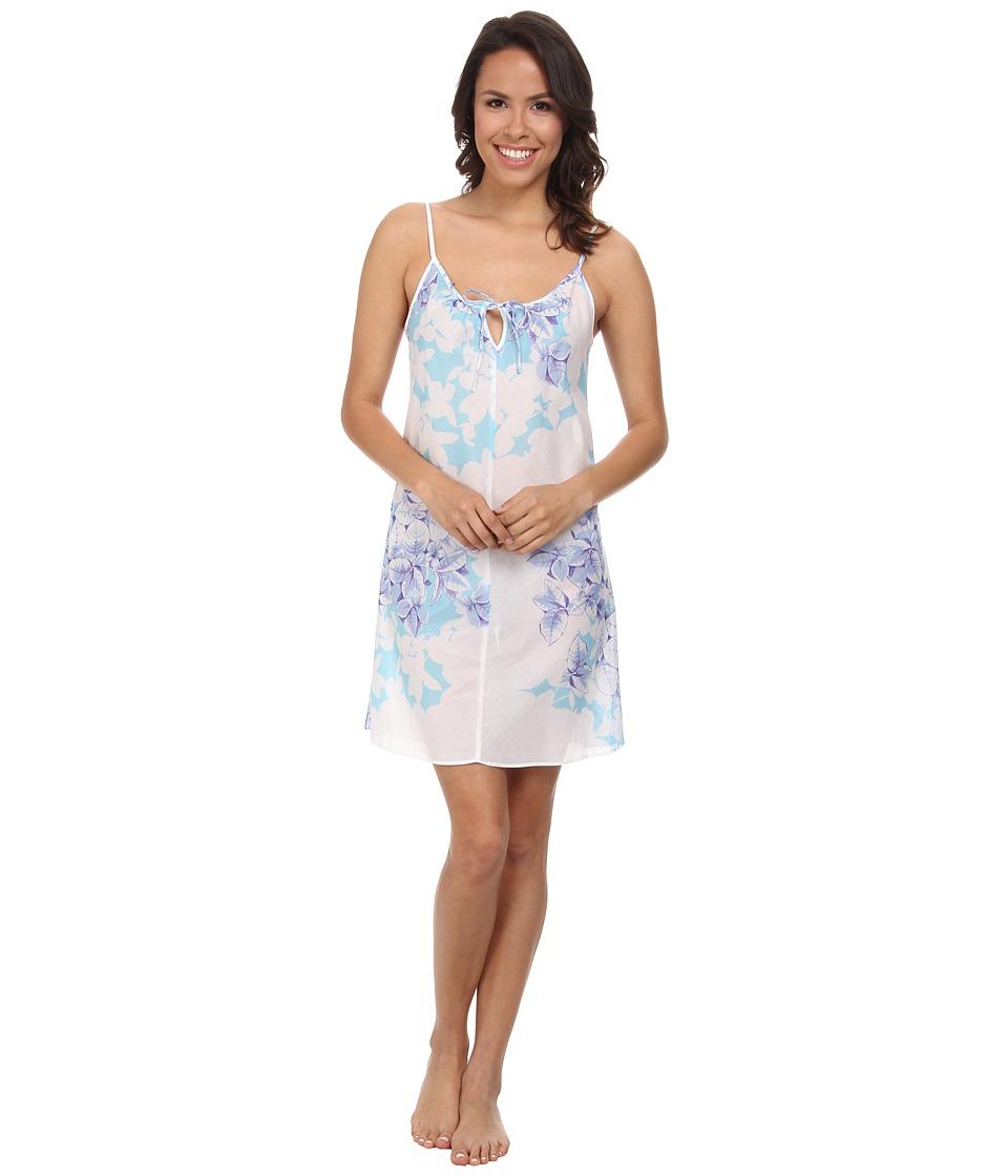 Natori - Kona Chemise (Surf Blue) Women's Pajama