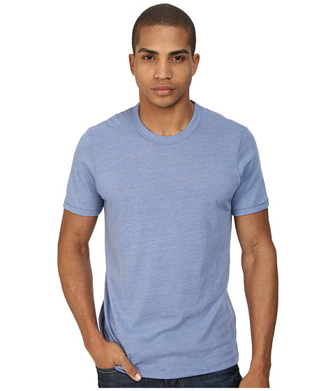 Alternative - S/S Crew Tee (Eco True Dusk Blue) Men's T Shirt