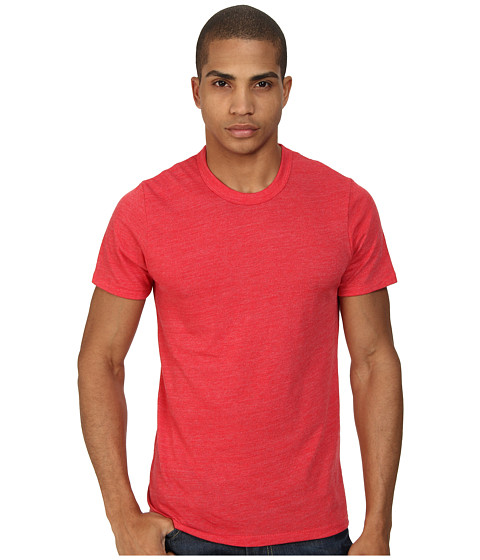 Alternative - S/S Crew Tee (Eco True Engine Red) Men's T Shirt