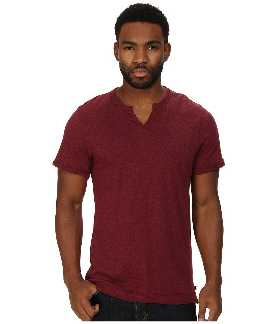 Alternative - Moroccan Tee (Black Cherry Heather) Men's Short Sleeve Pullover