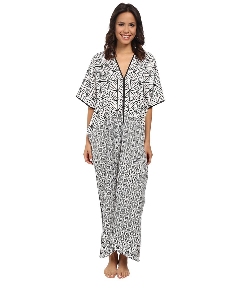 Natori - Kago Caftan (White) Women's Pajama