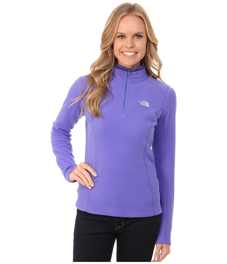 The North Face - Glacier 1/4 Zip Pullover (Starry Purple) Women's Long Sleeve Pullover