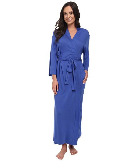 Natori - Shangri-La Robe (Island Blue) Women's Robe