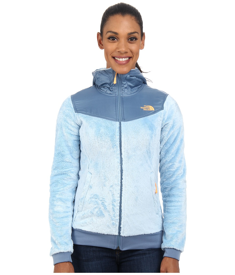 The North Face - Oso Hoodie (Tofino Blue/Cool Blue) Women's Sweatshirt