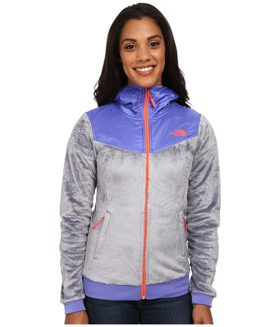 The North Face - Oso Hoodie (Mid Grey/Starry Purple) Women