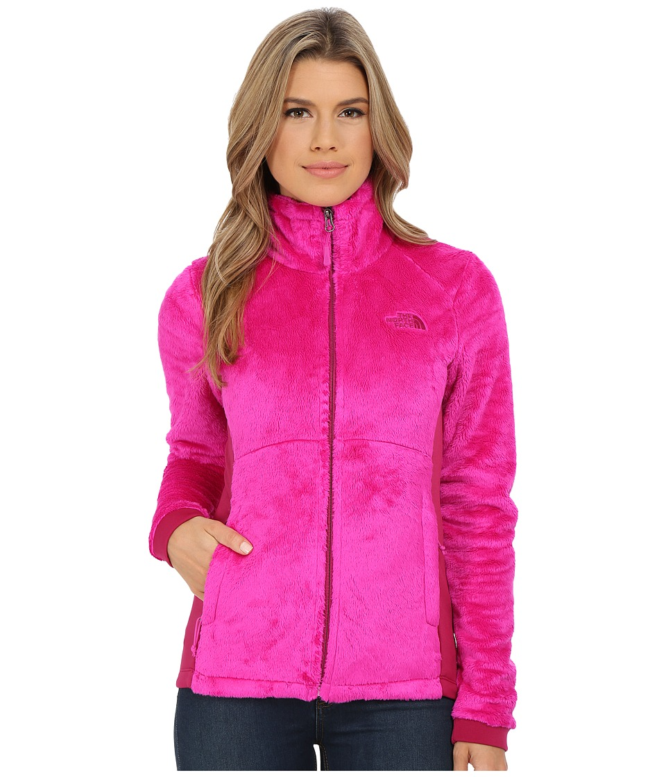 The North Face - Tech-Osito Jacket (Luminous Pink/Dramatic Plum) Women's Coat