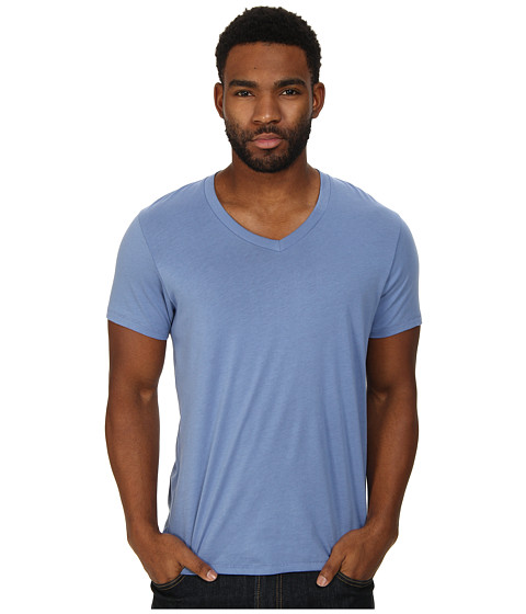 Alternative - Perfect V-Neck (Dusk Blue) Men's T Shirt