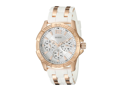 GUESS - U0615L1 Oasis (White) Sport Watches