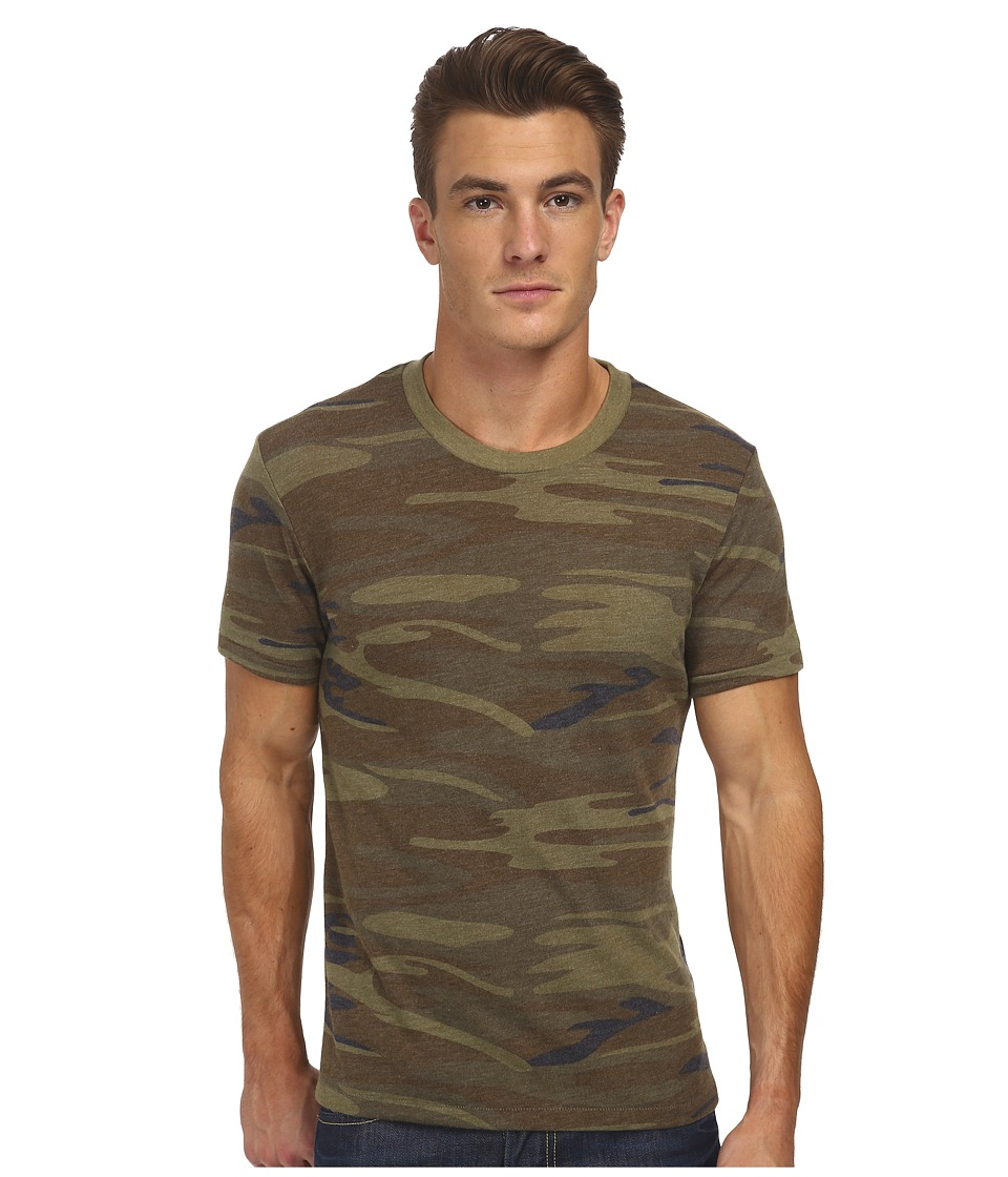Alternative - Eco Crew (Camo) Men's Short Sleeve Pullover