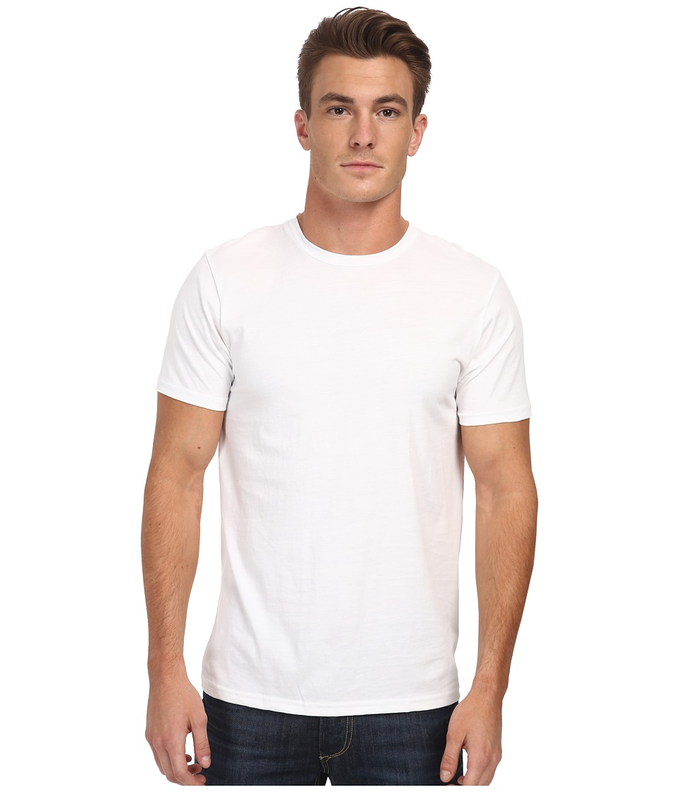 Alternative - Perfect Crew (White) Men's Short Sleeve Pullover