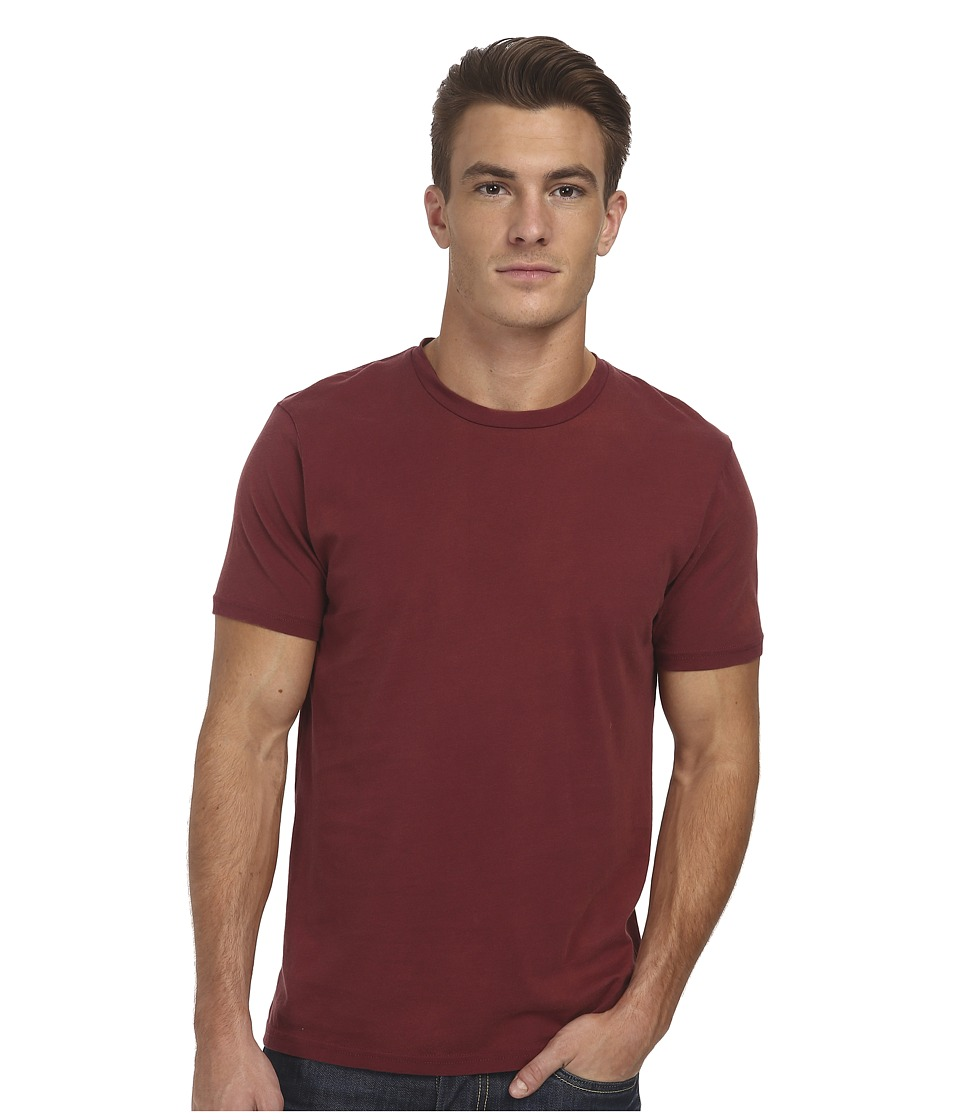 Alternative - Perfect Crew (Vintage Black Cherry) Men's Short Sleeve Pullover